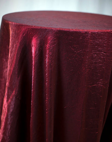 Linen - Garnet Crush - Main Street Weddings & Events