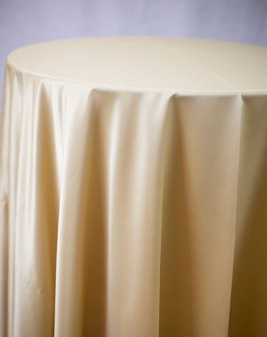 Linen - Gold Matte Satin - Main Street Weddings & Events