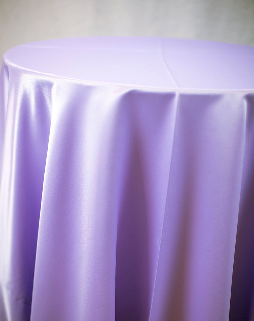 Linen - Heather Matte Satin - Main Street Weddings & Events