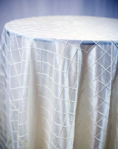 Linen - Ivory Pintuck - Main Street Weddings & Events