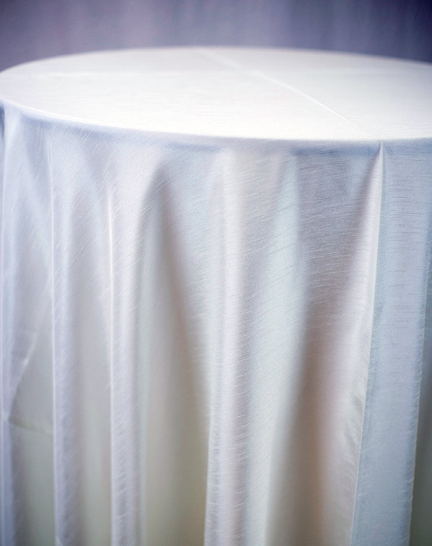 Linen - Ivory Shantung - Main Street Weddings & Events