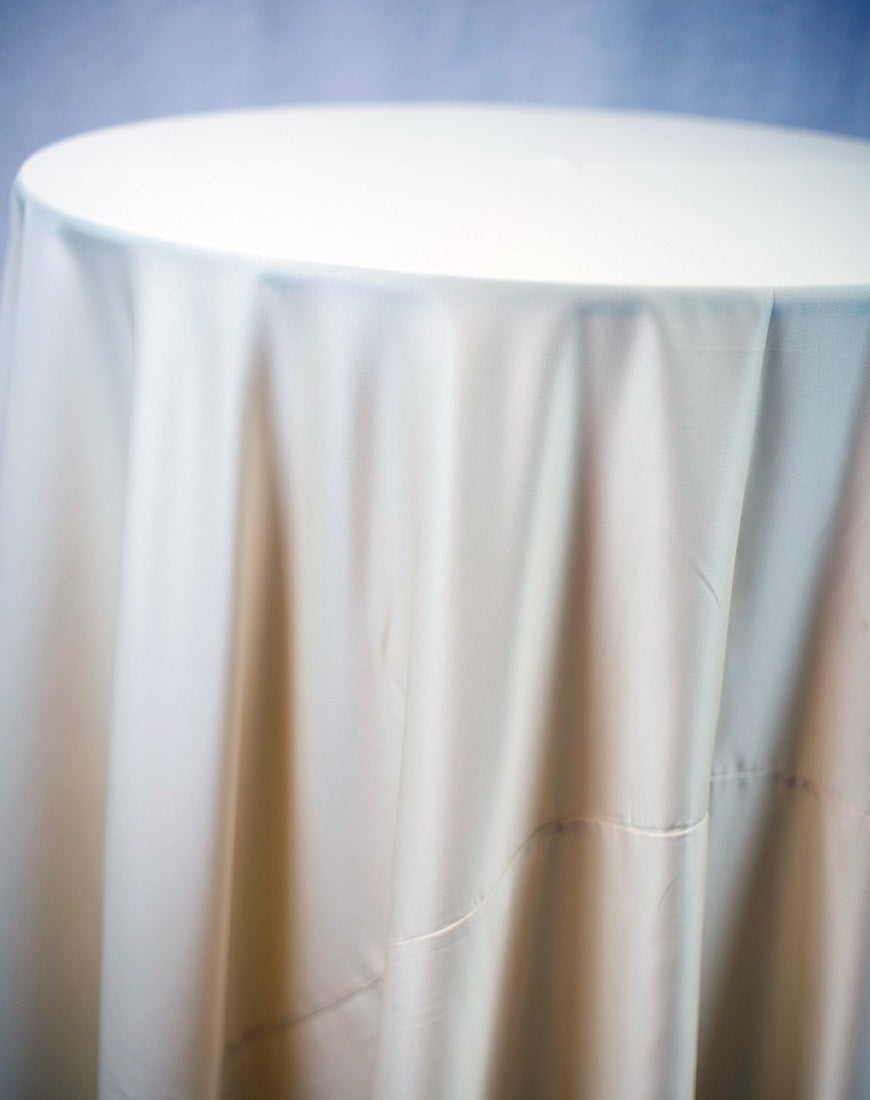 Linen - Khaki Matte Satin - Main Street Weddings & Events