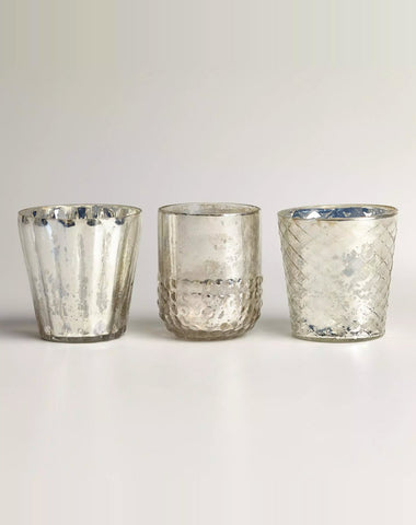 Decor - Mercury Votive Holder - Main Street Weddings & Events