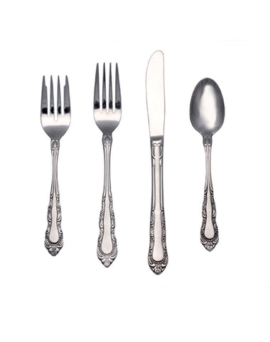 Tabletop - Patrician Flatware - Main Street Weddings & Events