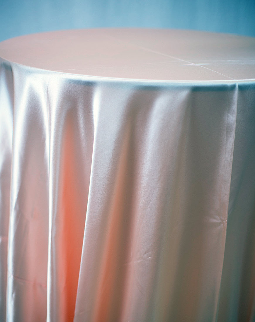 Linen - Peach Satin - Main Street Weddings & Events