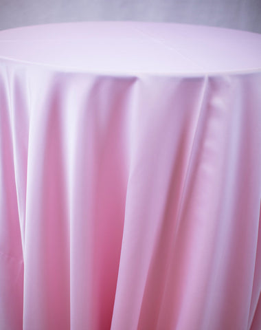 Linen - Pink Matte Satin - Main Street Weddings & Events