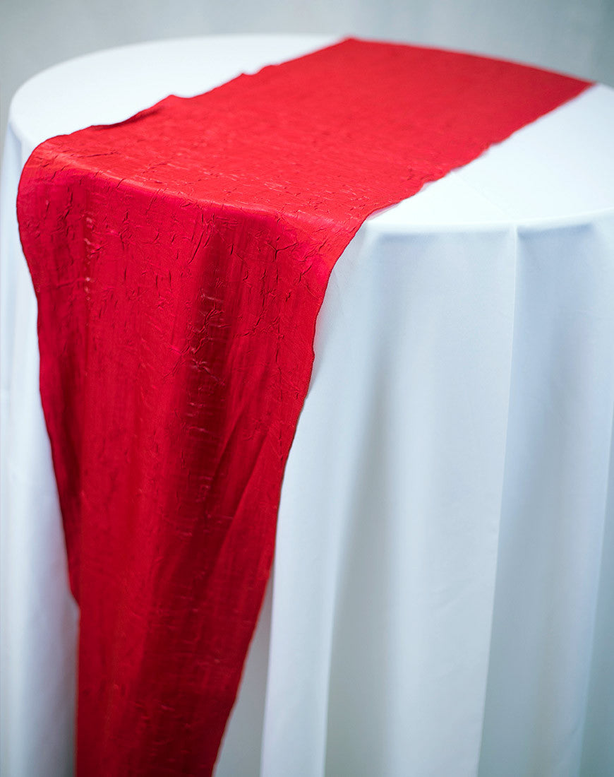Linen - Red Crush - Main Street Weddings & Events