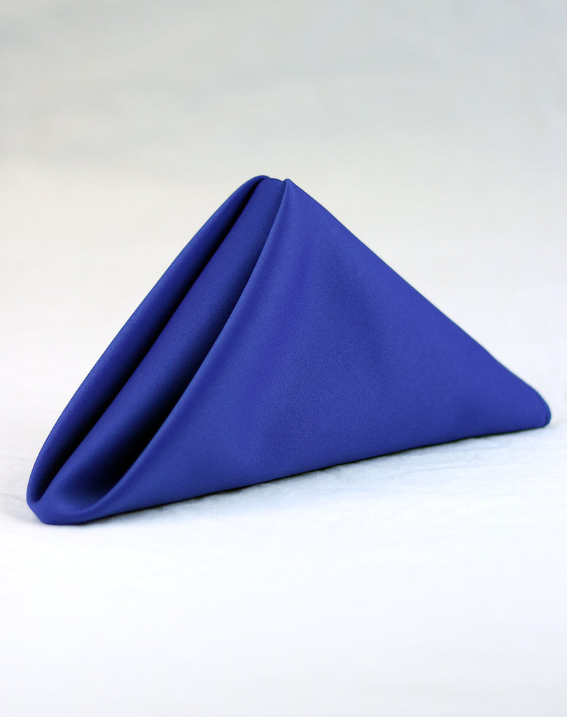 Royal Blue Matte Satin