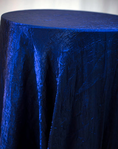 Linen - Royal Blue Crush - Main Street Weddings & Events