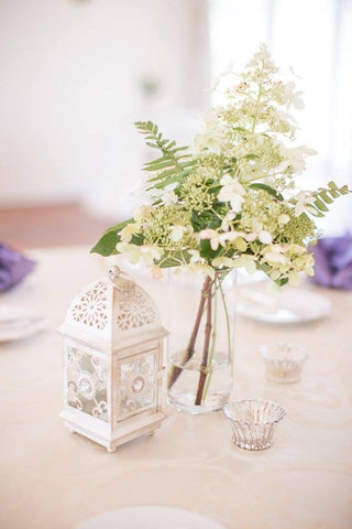 Decor - Small Ornate Lantern - Main Street Weddings & Events