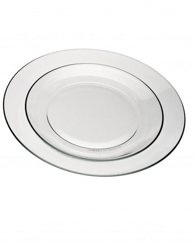 Tabletop - Smooth Glass Plate - Main Street Weddings & Events
