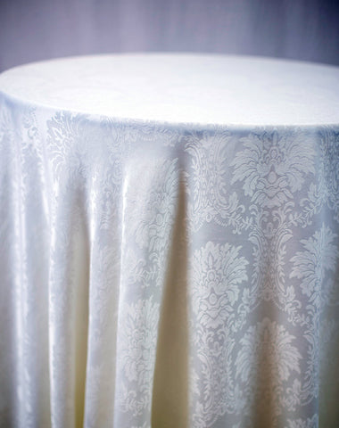 Linen - Wellington Damask - Main Street Weddings & Events