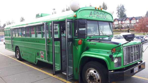 A FROG Bus: Mobile First Nations Culture Sharing for Children and Parents