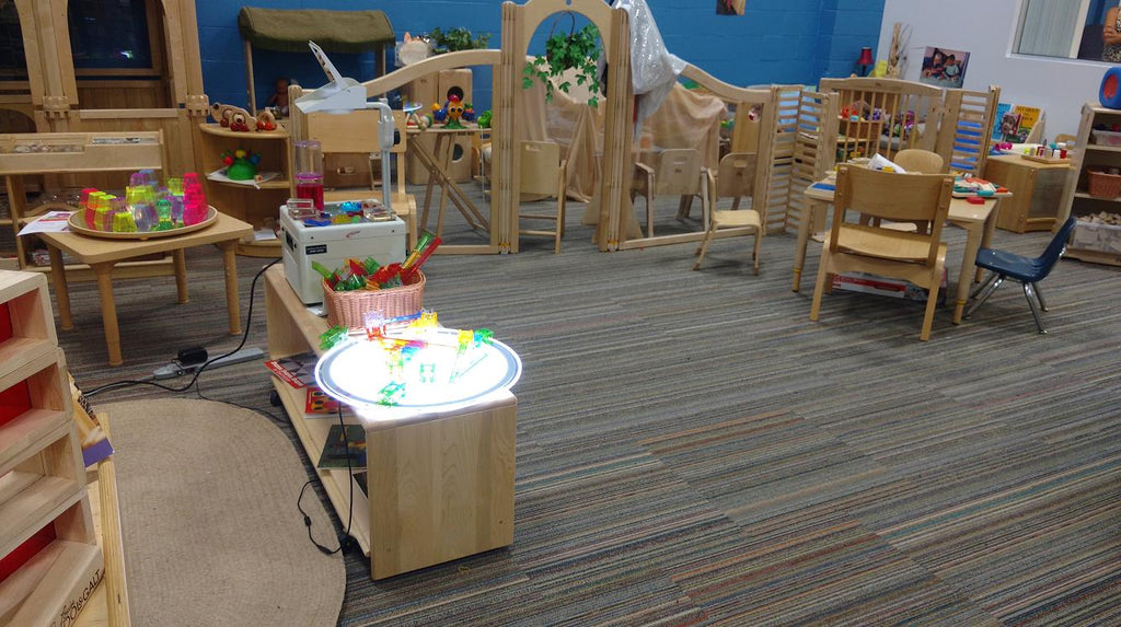 Illuminate and Upgrade Your Learning Space with Light Tables, Panels and Mirrors