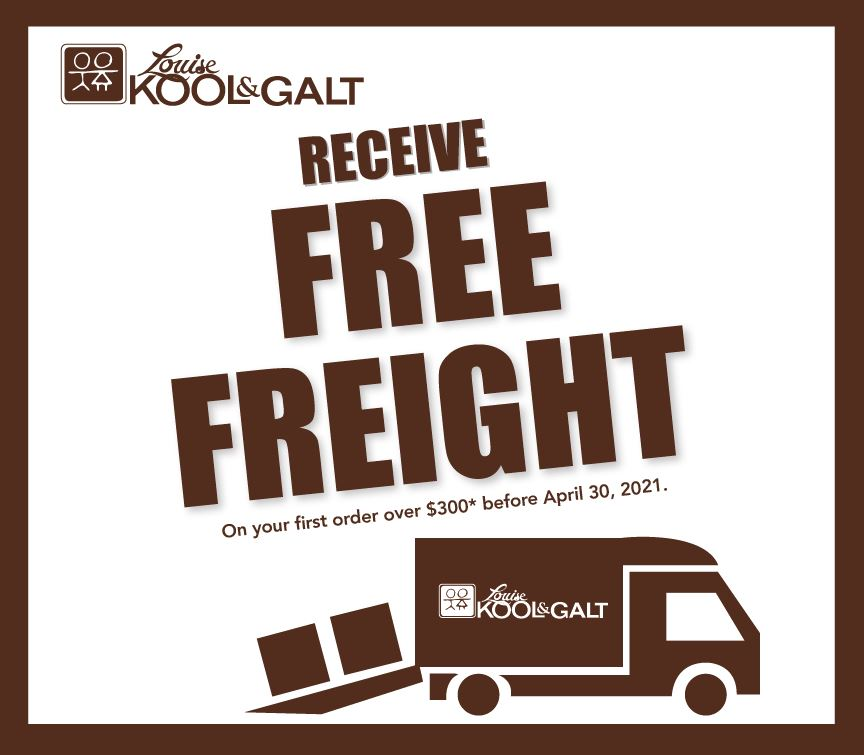 Until April 30th -- Get Free Freight