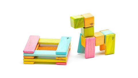 Tegu collection Louise Kool and galt magnetic blocks maker space