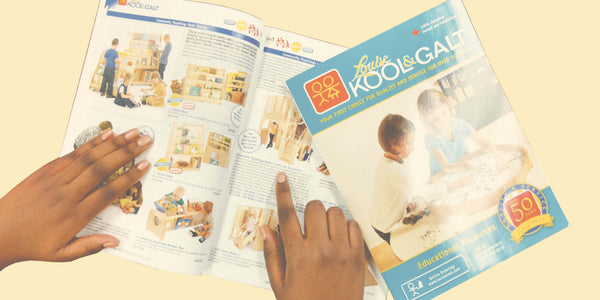 Louise Kool and Galt child care and school furniture resource catalogue.