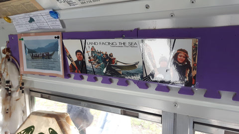 Inside aboriginal family resources on the go bus in surrey bc