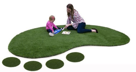 Landscape with Artificial Turf