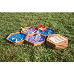 Outdoor sand tray