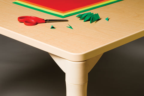 community playthings table leg close up