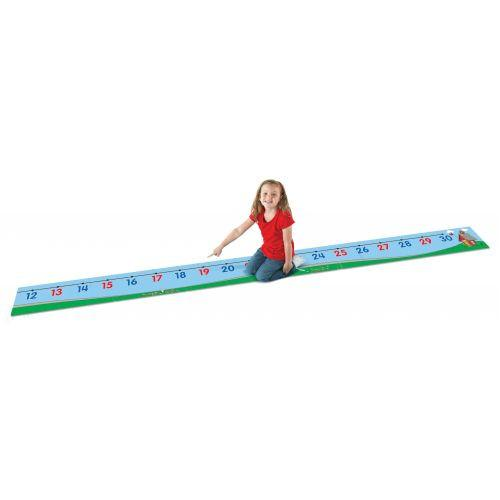 0-30 Number Line Floor Mat - louisekool