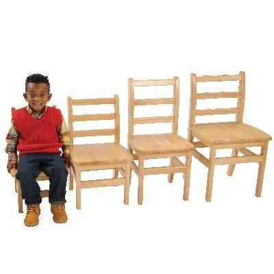 "14"" Ladder-back Chairs - Set of 2 - louisekool"