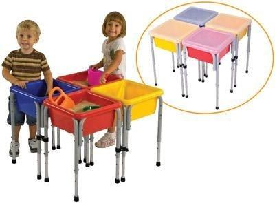 4-Station Sensory Centre with Lids - louisekool