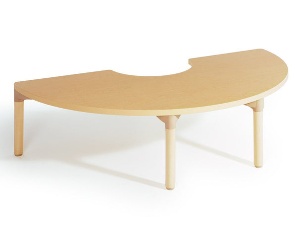 "64"" Half Circle Table by Community Playthings - louisekool"