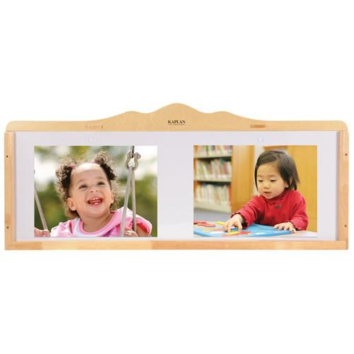 Acrylic Display Board with Hardwood Frame - louisekool