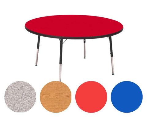 "Adjustable Tables - Round (48""): Preschool Legs - louisekool"
