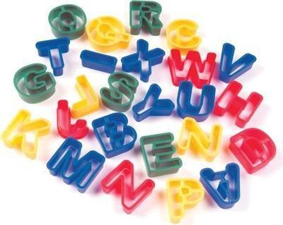 Alphabet Cutters and Dough Tools - Set of 31 - louisekool