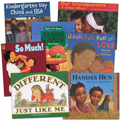 At Home With Diversity Book Set of 7 - louisekool