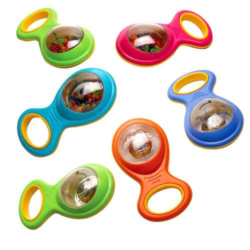 Baby Beads & Bell Shakers Set of 6 - louisekool