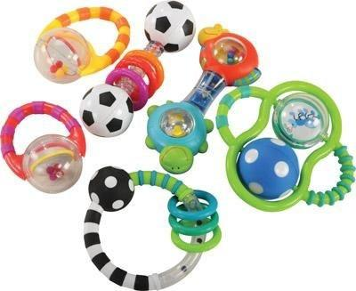 Baby Grasp and Explore Rattle Set - louisekool