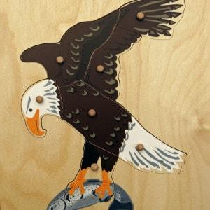 Bald Eagle Puzzle - louisekool