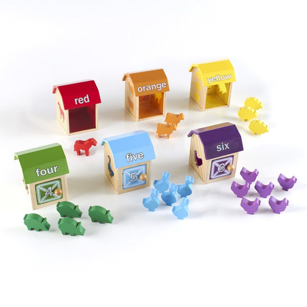 Barnyard Activity Boxes - 28 Pieces - louisekool