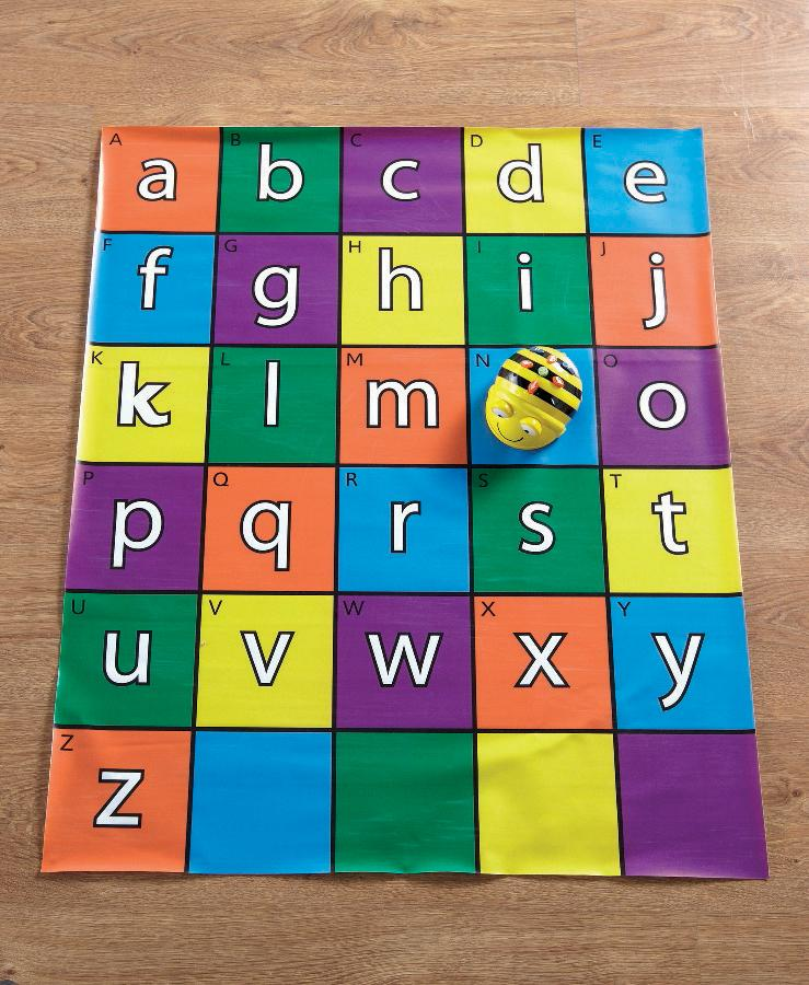 Bee-Bot and Blue-Bot Mats - Alphabet - louisekool