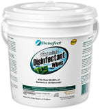 "Benefect 6"" x 7"" 250 Wipes/Pail"