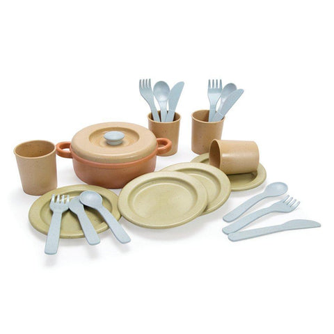 BIO Plastic Dinner Set - louisekool