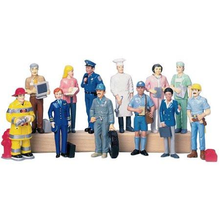 Career Figures - Set of 12 - louisekool