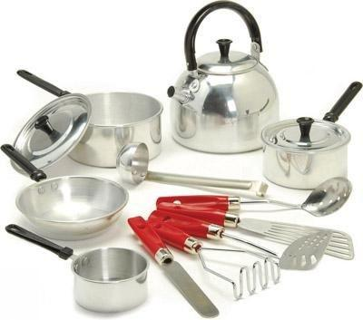 Child-Size Cookware Set 14-Pieces - louisekool