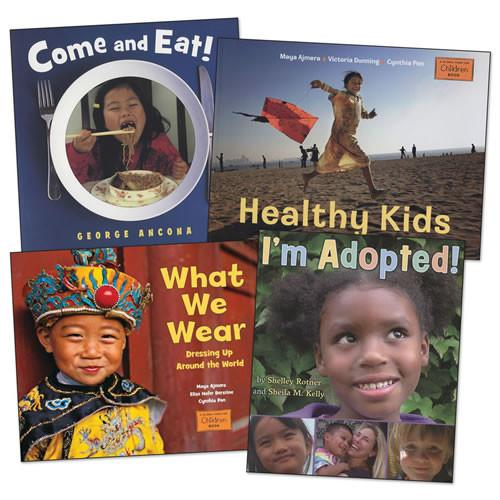 Children Around the World Book Set of 4 - louisekool