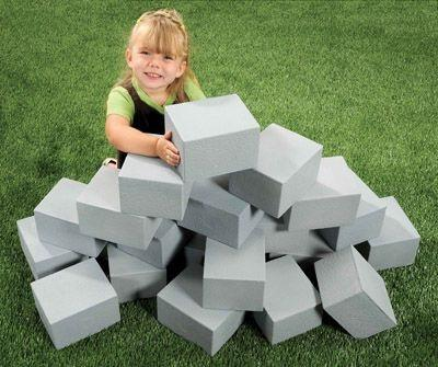 Cinder Block Builder Set - 20 Pieces - louisekool