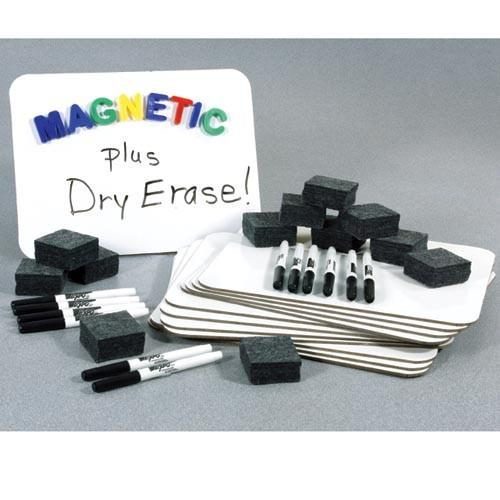 Classroom Magnetic Dry Erase Board Sets - louisekool