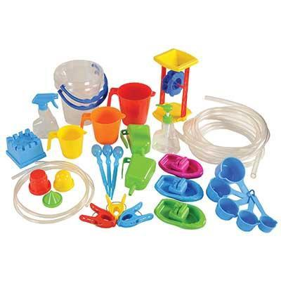 Classroom Water Play Set - 35 Pieces - louisekool