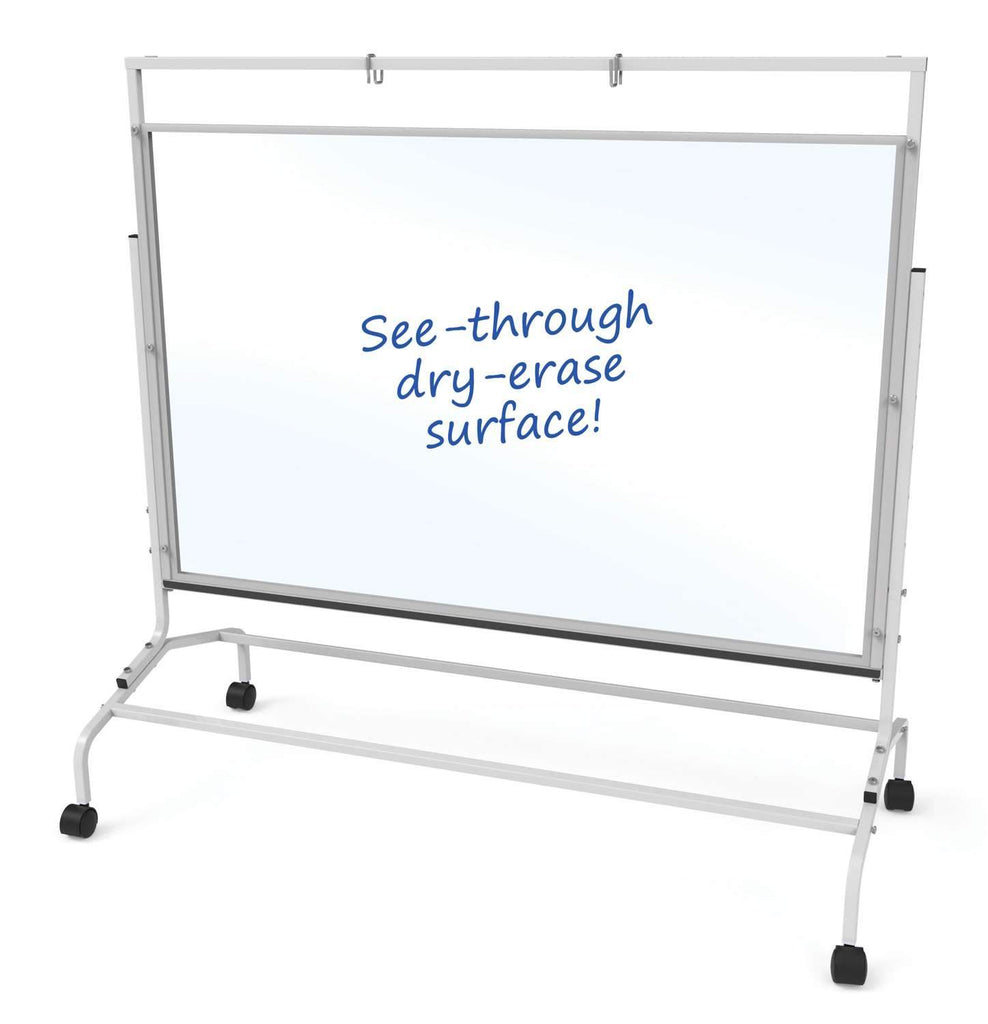 Clear Dry-Erase Wide Room Divider - louisekool