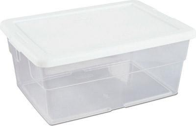 Clear Storage Box - louisekool