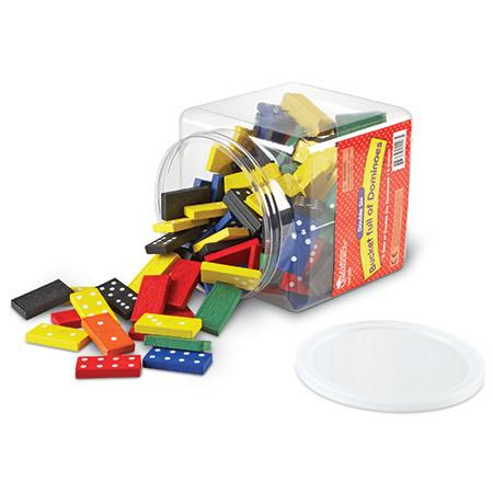 Colour Dominoes - Set of 168 - louisekool