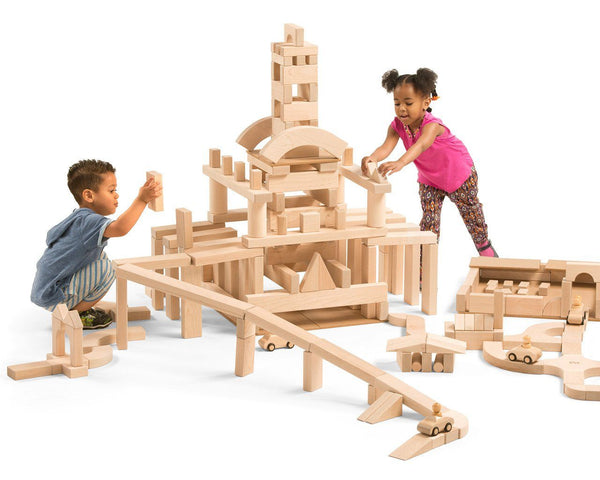 Community Playthings Half School Set Unit Blocks - louisekool